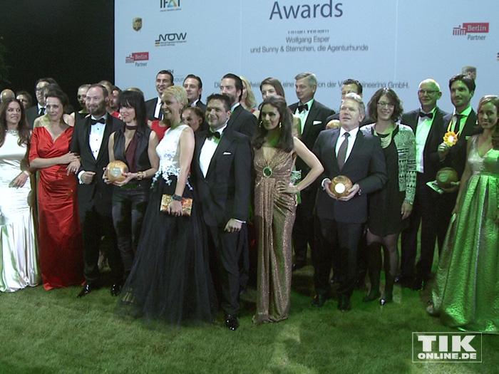 Gruppenbild beim GreenTec Award 2015