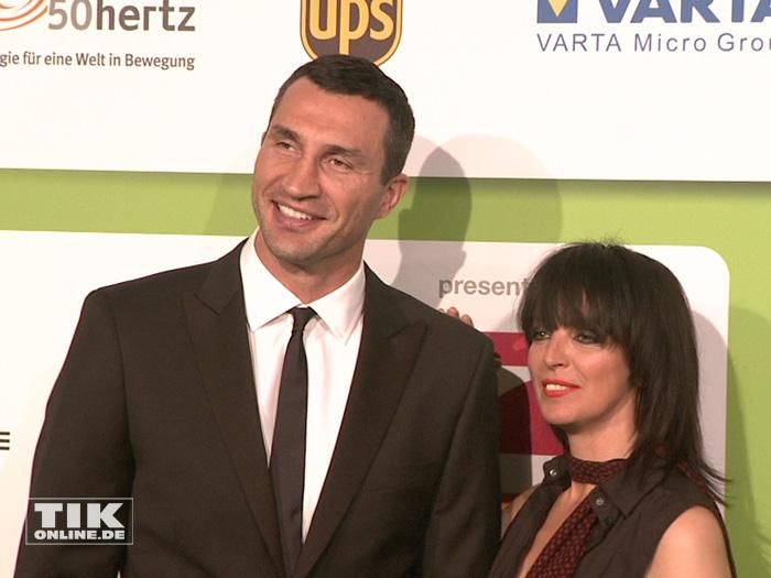 Nena und Wladimir Klitschko beim GreenTec Award 2015