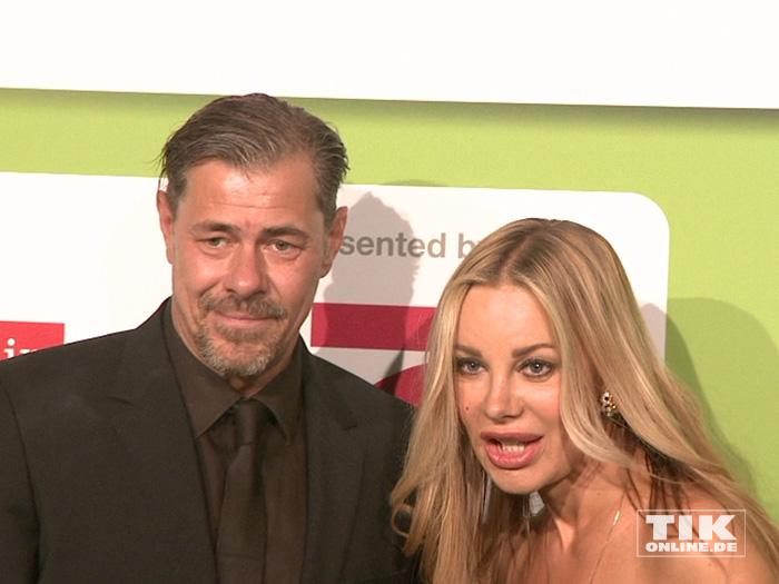 Sven Martinek und Xenia Seeberg beim GreenTec Award 2015