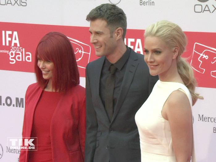 Miss IFA, Jochen Schropp und Judith Rakers bei der IFA Opening Gala 2015 in Berlin