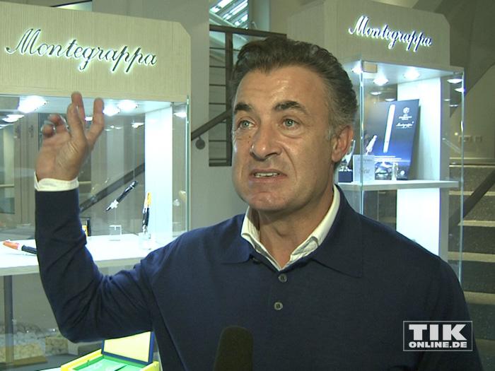 Jean Alesi ist nach seiner Formel-1-Karriere Teilhaber der Schreibgeräte-Manufaktur Montegrappa