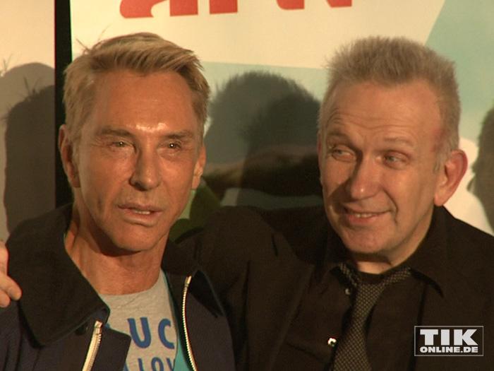 Jean Paul Gaultier und Wolfgang Joop
