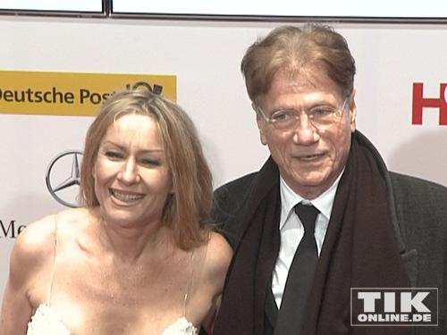 Fotos aus glücklichen Zeiten: Birgit Stein und Jürgen Prochnow