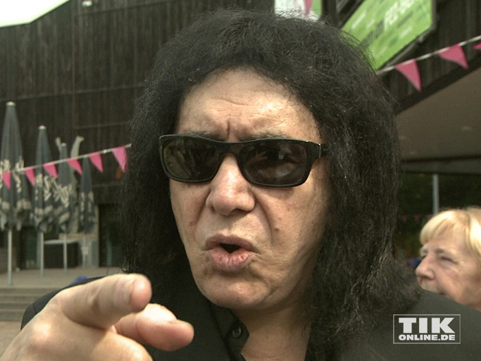 Gene Simmons auf Friedensmission in Berlin