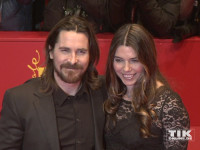"""Christian Bale kam mit seiner Frau Sibi Blazic zur Berlin-Premiere von """"Knight of Cups""""."""