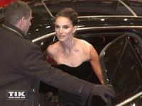 """Natalie Portman trifft bei der Berlin-Premiere von """"Knight of Cups"""" am roten Teppich ein."""