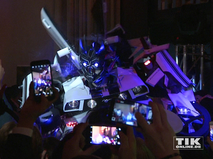 Transformers bei der Lausbuben Party 2016