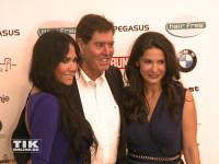 Jack White kam mit seiner Freundin Rafaella zur Lebensherbst-Gala 2015 von Mariella Ahrens