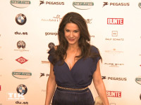 Mariella Ahrens auf der Lebensherbst-Gala 2015