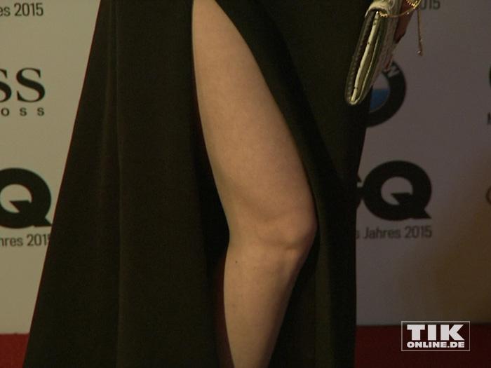 """Das sexy Bein von Lena Meyer-Landrut bei den """"GQ Männer des Jahres Awards 2015"""" in Berlin"""