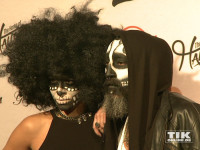 Auch Gita Kurdpoor und Senay Gueler waren Gäste der Halloween-Party von Natascha Ochsenknecht