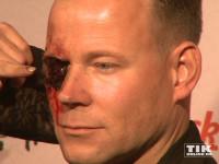 Matthias Schlung hat was im Auge bei der Halloween-Party von Natascha Ochsenknecht