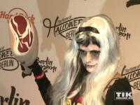 Sarah Knappik bei der Halloween-Party von Natascha Ochsenknecht