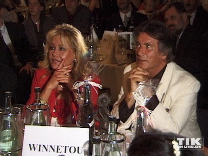 Der ewige Winnetou Pierre Brice und seine Frau Hella