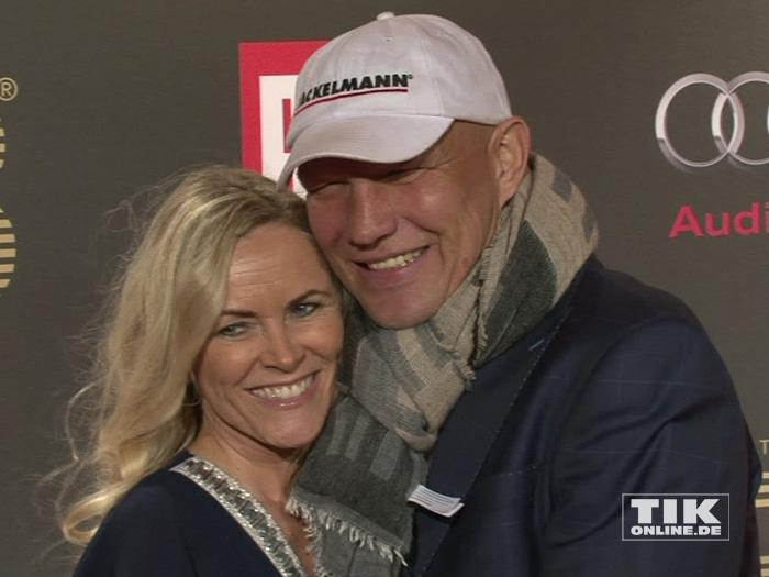 Axel Schulz und seine Ehefrau Patricia stahlen bei der Place-2-B-Party in Berlin