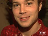 Jascha Rust freute sich auf die neue Grusel-Show im Berlin Dungeon