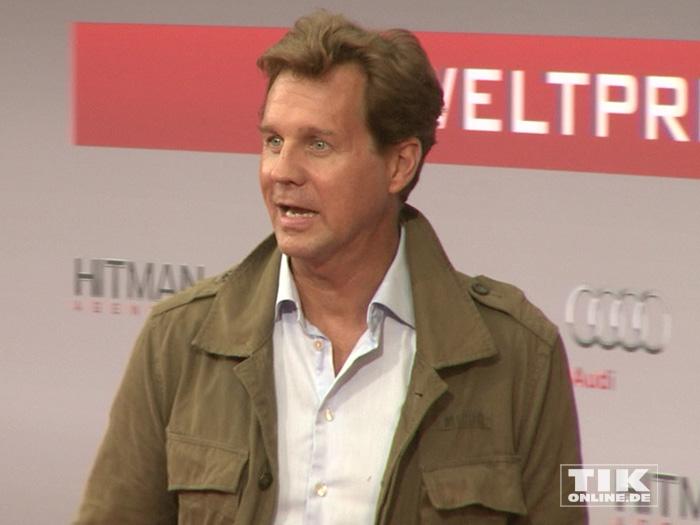 """Thomas Heinze bei der Premiere von """"Hitman: Agent 47"""" in Berlin"""