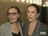 """Eleonore Weisgerber und Daniela Ziegler bei der """"Elisabeth""""-Musical-Premiere in Berlin"""