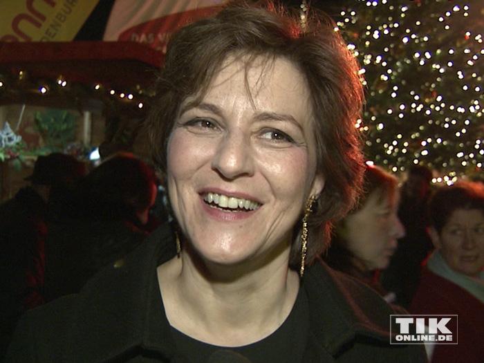 Martina Gedeck bei der Premiere des Roncalli Weihnachtscircus 2015