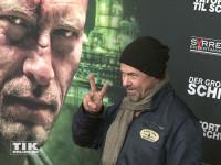 """Sven Martinek bei der Premiere des Schweiger-Tatorts """"Der große Schmerz"""" im Berliner Kino Babylon"""