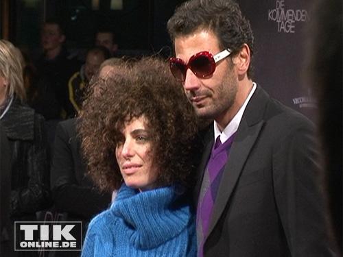 Mehdi Nebbou Frau