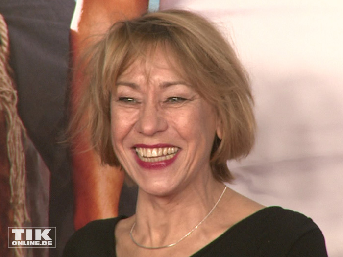 """Gitta Schweighöfer, Mutter von Matthias Schweighöfer, bei der Premiere der Komödie """"Highway to Hellas"""" in Berlin"""