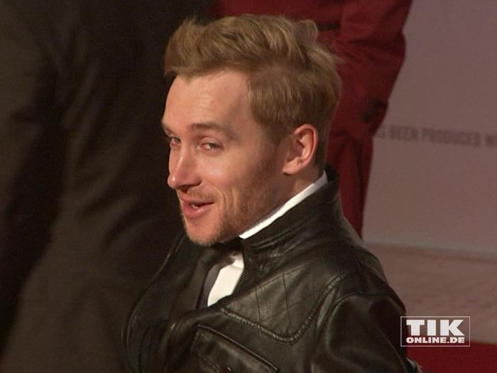 """Samuel Koch auf der Premiere von """"Honig im Kopf"""""""
