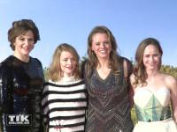 """Martina Gedeck, Karoline Schuch, Julia von Heinz und Inez Bjorg David bei der Premiere von """"Ich bin dann mal weg"""" in Berlin"""