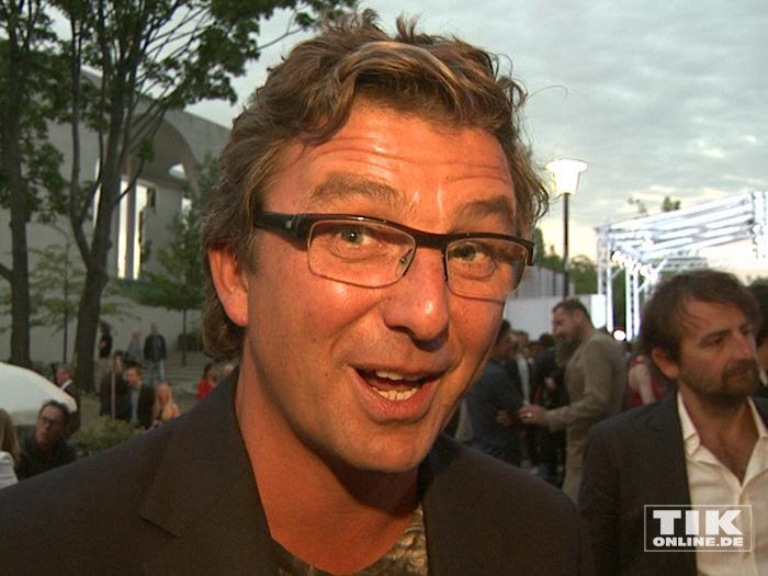 """""""Bergdoktor"""" Hans Sigl beim Produzentenfest 2015"""