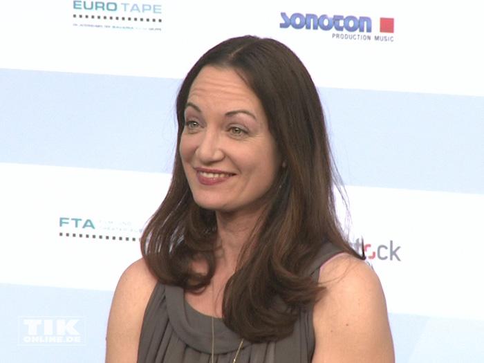 Natalia Wörner beim Produzentenfest 2015