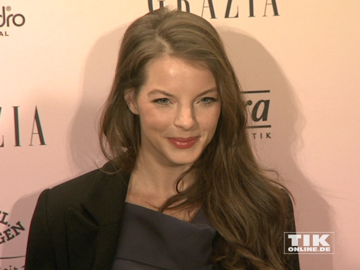 Yvonne Catterfeld beim Grazia Pop Up Breakfast 2016 in Berlin