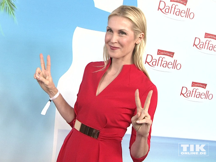 US-Schauspielerin Kelly Rutherford beim Raffaello Summer Day 2015 in Berlin