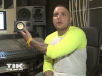 Rapper Fler zeigt sein Studio