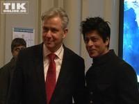 Klaus Wowereit und Shah Rukh Khan