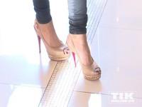 Hauptsache hohe Absätze - so müssen Schuhe für Sophia Thomalla sein