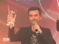 Florian Silbereisen mit seinem Preis bei den Smago Awards in Berlin