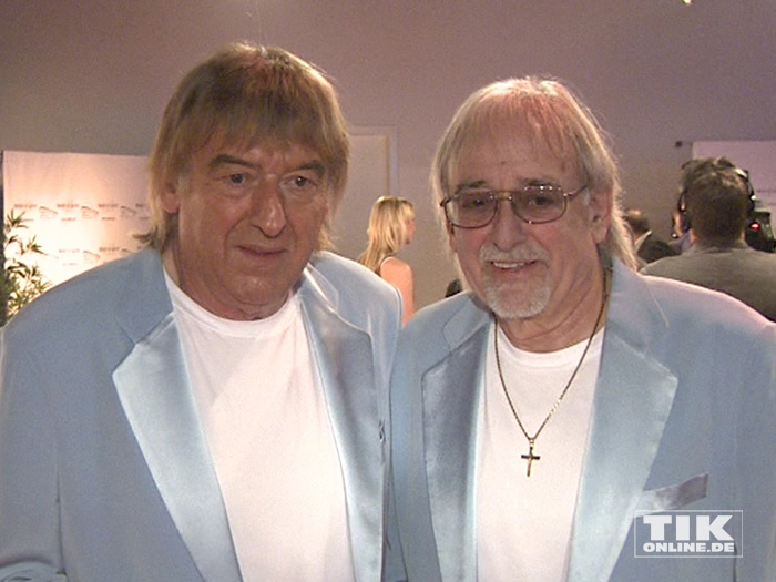 Die Amigos posieren bei den Smago Awards in Berlin