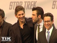 Die Star Trek Crew in Berlin