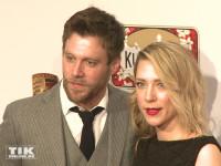 Ken Duken und seine Ehefrau Marisa Leonie Bach bei der Party des Medienboard Berlin-Brandenburg 2016