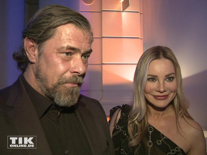 Kamen zusammen zur ARD Blue Hour 2016: Sven Martinek und Xenia Seeberg
