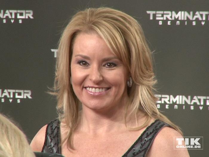 """Schwarzenegger-Freundin Heather Milligan bei der Premiere von """"Terminator Genisys"""" in Berlin"""