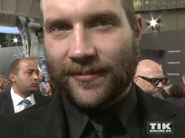 """Jai Courtney bei der Premiere von """"Terminator Genisys"""" in Berlin"""
