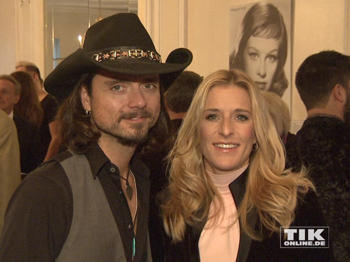 Stefanie Hertel und ihr Ehemann Lanny Isis bei der Verleihung des Deutschen Tierschutzpreises 2014