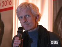 Schauspieler Mathieu Carrière hielt die Laudatio für Artur Brauner beim Askania Award 2016