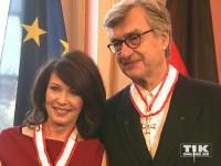 Neben Iris Berben wurde auch Wim Wenders mit dem Berliner Landesorden 2015 geehrt