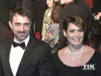 Anja Kling und ihr Freund Oliver bei der Bambi Verleihung 2015