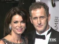 Gerit Kling und ihr Freund Wolfram Becker bei der Bambi Verleihung 2015