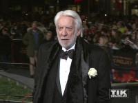 """Donald Sutherland bei der """"Die Tribute von Panem - Mockingjay 2""""-Premiere in Berlin"""