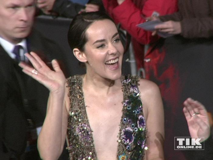"""Jena Malone bei der """"Die Tribute von Panem - Mockingjay 2""""-Premiere in Berlin"""