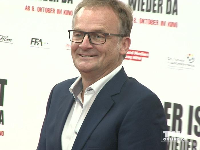 """Frank Plasberg gut gelaunt auf der Premiere von """"Er ist wieder da"""" in Berlin"""